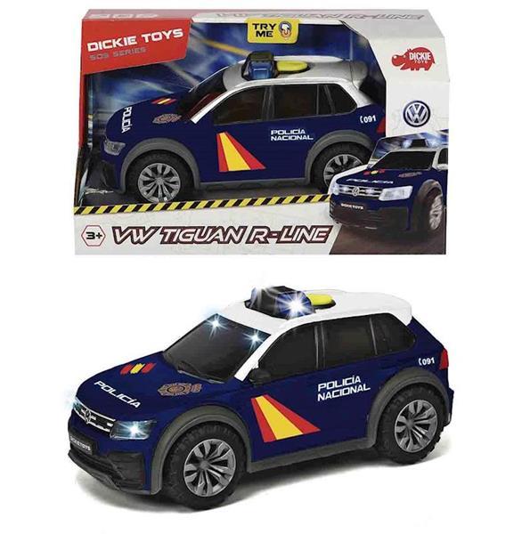 Imagen de Coche Policía Nacional Volkswagen Tiguan