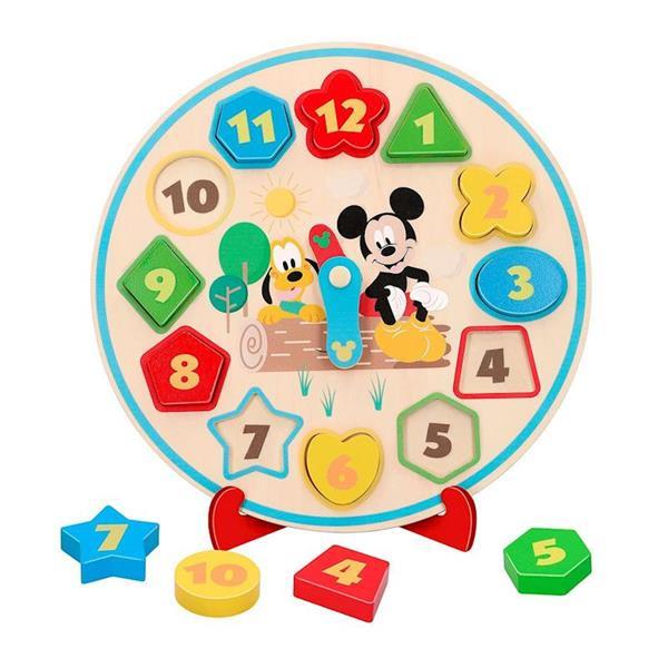 Imagen de Reloj De Madera Mickey Y Minnie