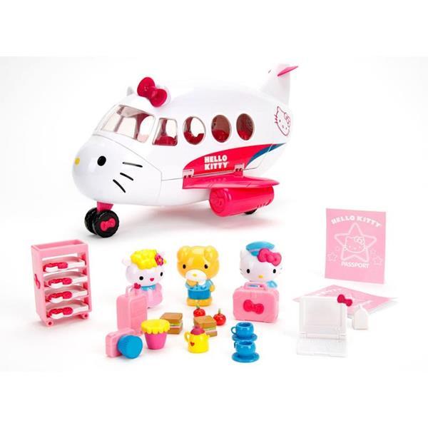 Imagen de Avión de Hello Kitty con Figuras y Accesorios