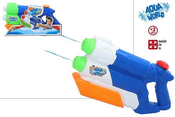 Imagen de Pistola de Agua 2 Cañones con Bomba