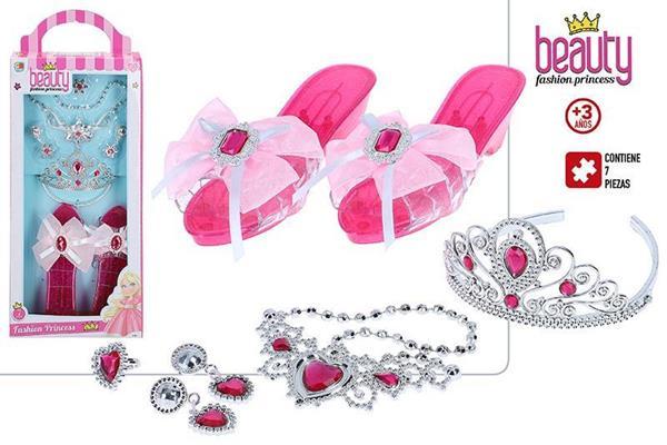 Imagen de Set de Belleza Joyas y Zapatos Princesa