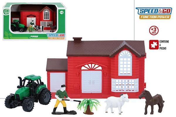 Imagen de Granja con Tractor y Muñecos