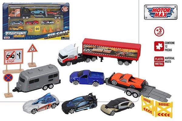 Imagen de Set Vehículos Metal Trucking World