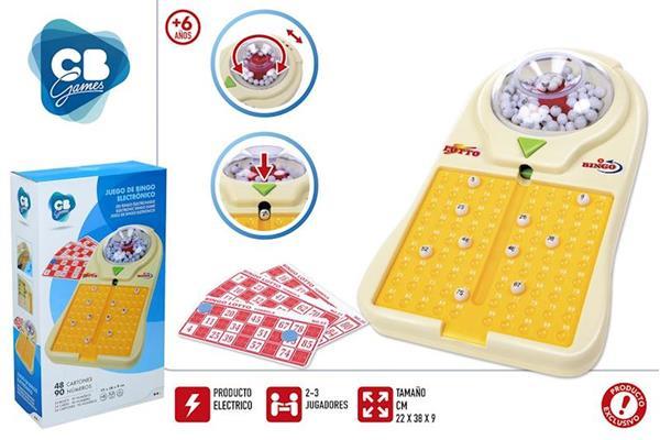 Imagen de Juego Bingo Electrónico con 48 Cartones