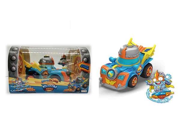 Imagen de Superthings Racer Con Muñeco Kid Kazoom Magic Box