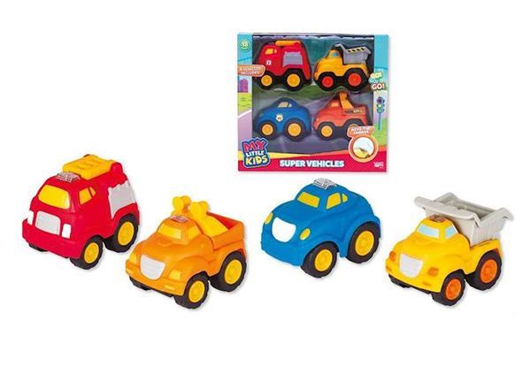 Imagen de Pack de 4 Vehículos de Servicios