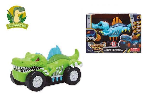 Imagen de Vehículo Dinosaurio Espinosaurio con Luz y Sonido