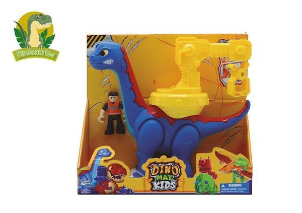 Imagen de Dinosaurio Brontosaurus con Muñeco y Sonido