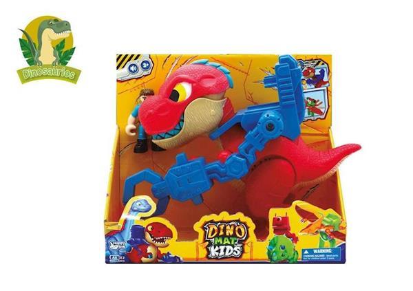 Imagen de Dinosaurio T-Rex con Muñeco y Sonido