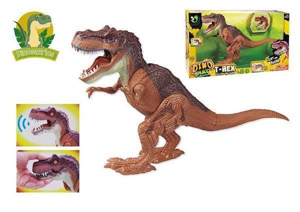 Imagen de Dinosaurio T-Rex con Luz y Sonido