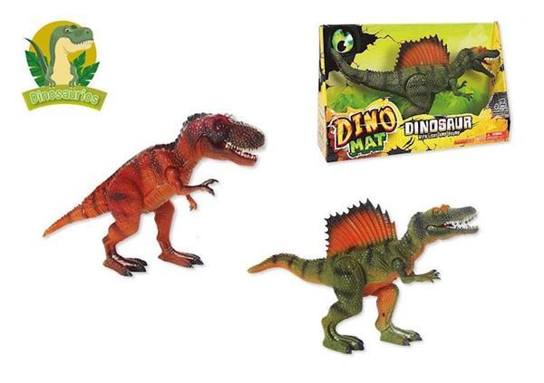 Imagen de Dinosaurio con Luz y Sonido de 30 cm