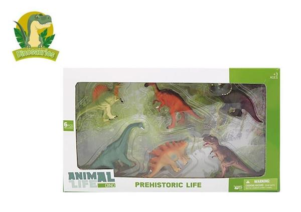 Imagen de Caja de 6 Dinosaurios