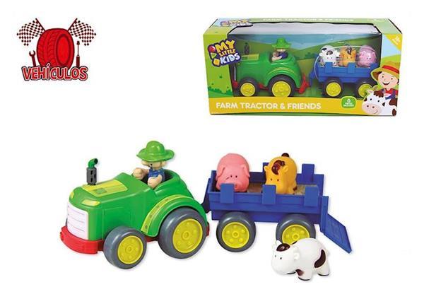 Imagen de Tractor con Remolque de Animales