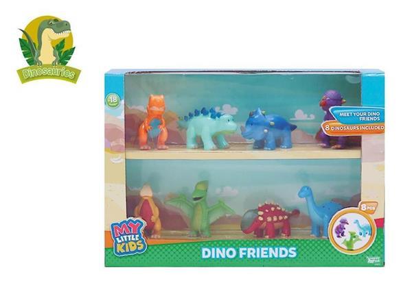 Imagen de Caja con 8 Dinosaurios Bebés