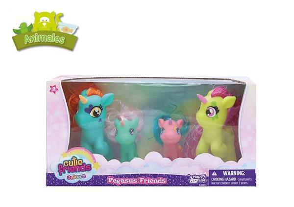 Imagen de Caja con 4 Unicornios