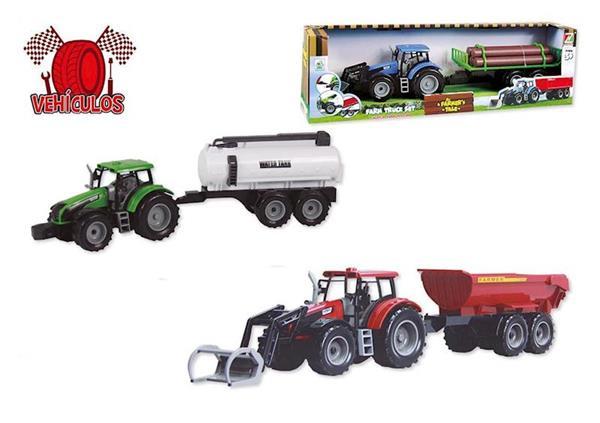 Imagen de Tractor con Remolque de 52 cm