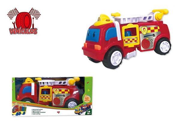 Imagen de Camión Bomberos Infantil con Luces y Sonidos