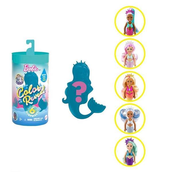 Imagen de Chelsea Barbie Color Reveal Sirena
