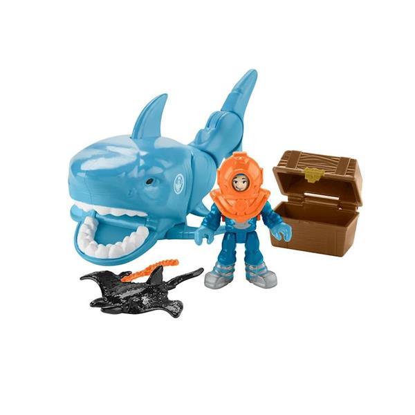 Imagen de Imaginext Vehículos y Figuras Tiburones