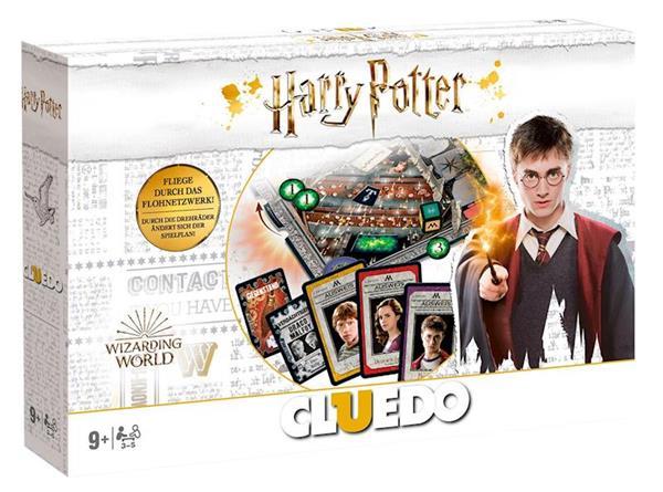 Imagen de Juego Cluedo Harry Potter Edición Blanca