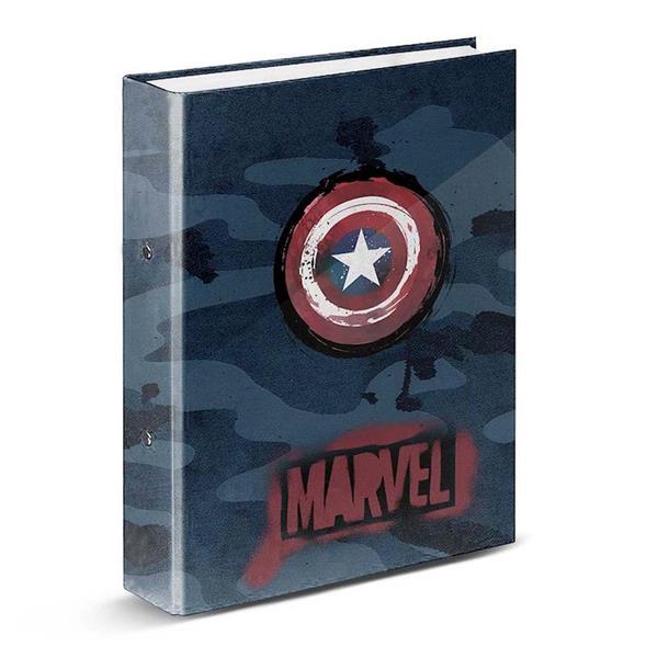 Imagen de Carpeta 4 Anillas Marvel Capitán América