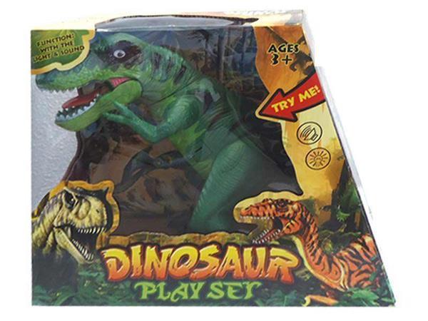 Imagen de Dinosaurio T-Rex Con Luz y Sonido 30 cm.