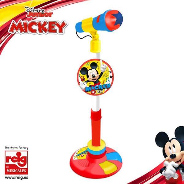 Imagen de Micro de Pie Mickey Mouse con Amplificador y Pedal