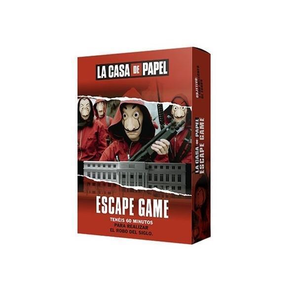 Imagen de La Casa De Papel Juego Escape Game