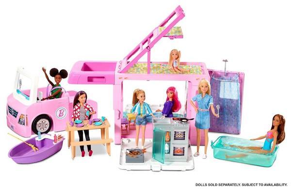 Imagen de Supercaravana Barbie 3 en 1