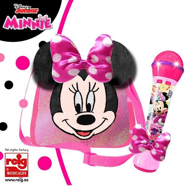 Imagen de Bolso Minnie con Micro y Amplificador