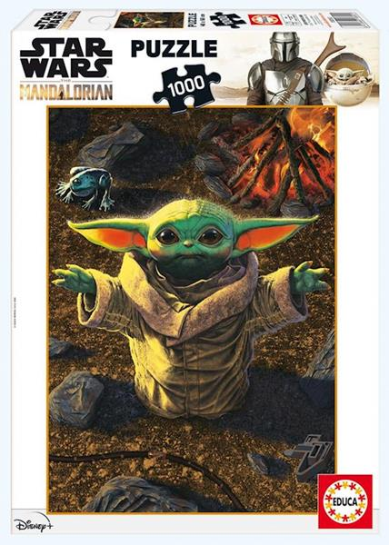 Imagen de Puzzle Baby Yoda 1000 Piezas
