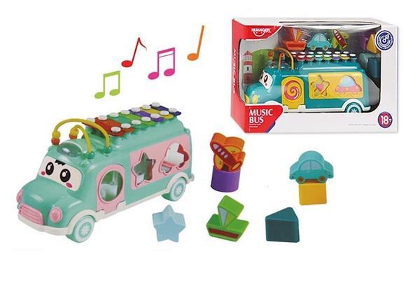 Imagen de Autobús Musical con Actividades y Encajables