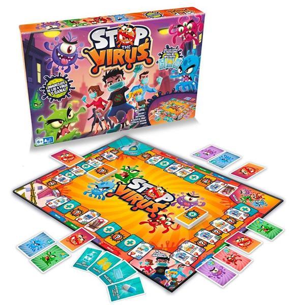 Imagen de Juego Stop The Virus