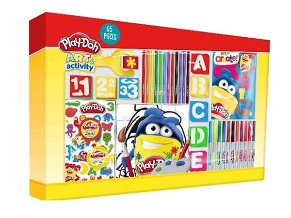 Imagen de Mega Box Actividades Play-Doh 65 Piezas