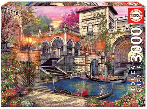 Imagen de Puzzle 3000 Piezas Romance En Venecia