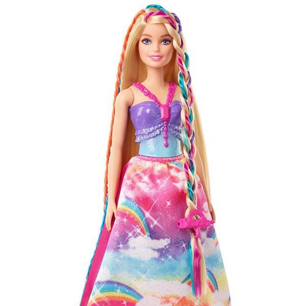 Imagen de Barbie Dreamtopia Princesa Con Trenzas