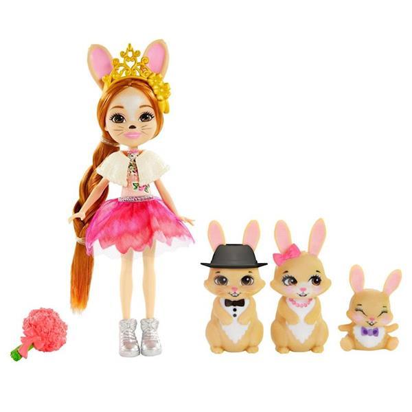 Imagen de Muñeca Enchantimals Familia Conejos