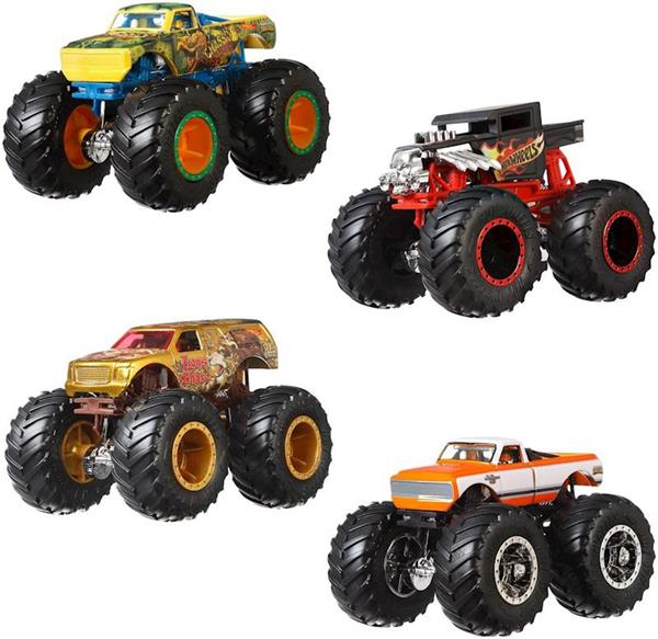 Imagen de Hot Wheels Monster Truck Pack 5