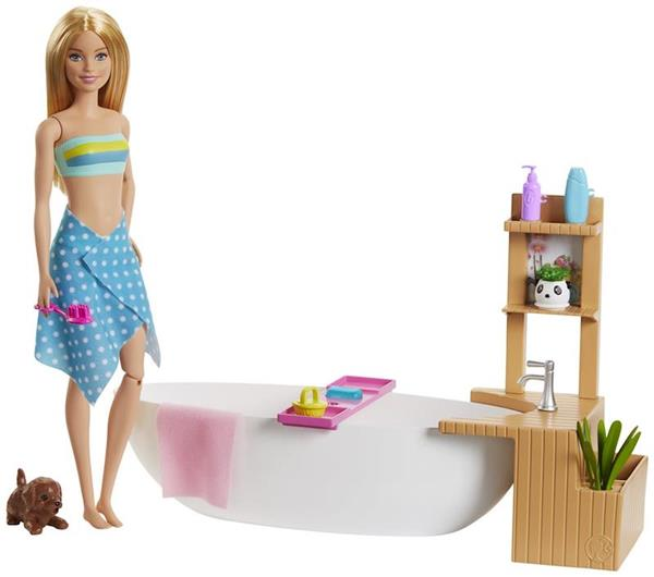 Imagen de Barbie Baño Con Burbujas