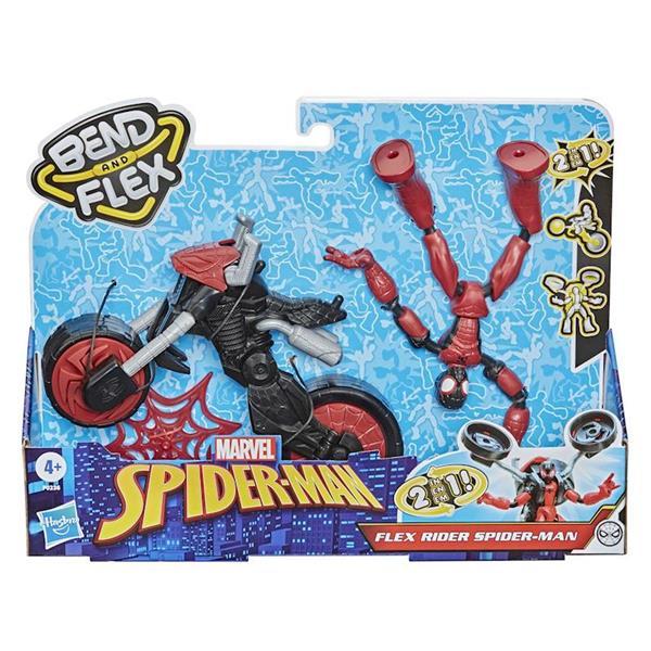 Imagen de Figura Spiderman Bend And Flex Con Vehículo