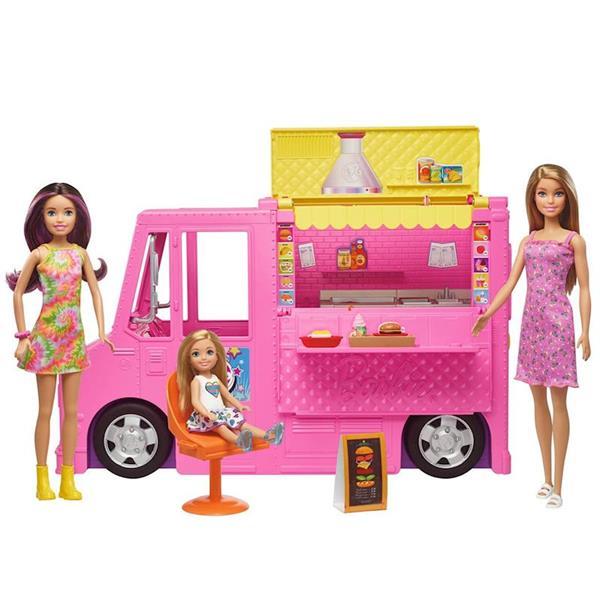 Imagen de Barbie Camión De Comida Sobre Ruedas