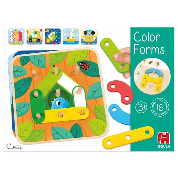 Imagen de Goula Colores Y formas De Madera