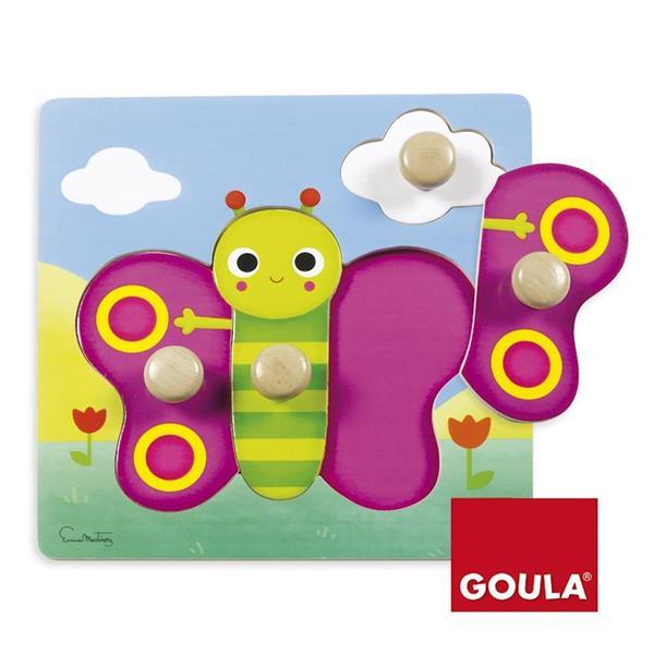 Imagen de Goula Puzzle De Madera Mariposa