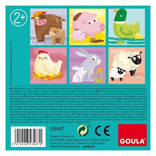 Imagen de Goula Puzzle Cubos De Carton