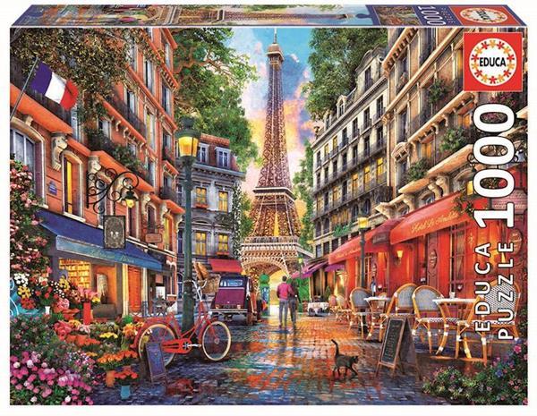 Imagen de Puzzle Paris Dominic Davison 1000 Piezas