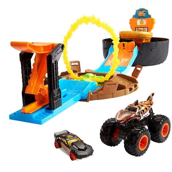 Imagen de Pista Hot Wheels Monster Trucks