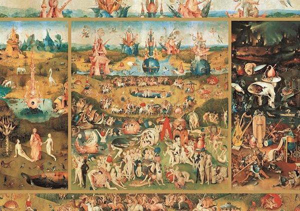 Imagen de Puzzle 2000 Piezas Jardín De Las Delicias