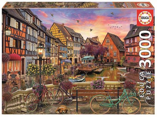 Imagen de Puzzle 3000 Piezas Colmar Francia