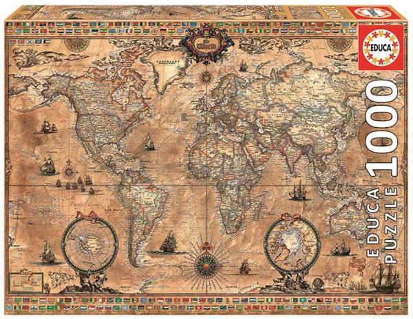 Imagen de Puzzle 1000 Piezas Mapamundi