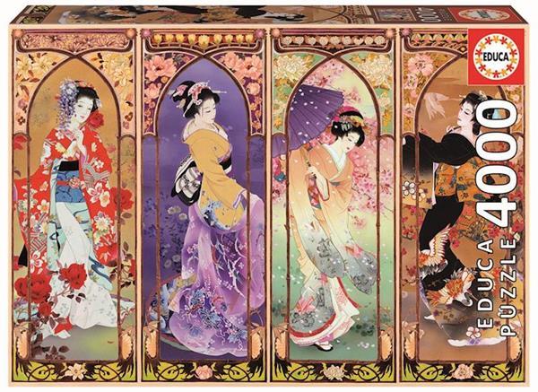 Imagen de Puzzle 3000 Piezas Collage Japones